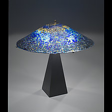 Starlight Starbright Lamp by Ernest Porcelli (Art Glass Table Lamp)