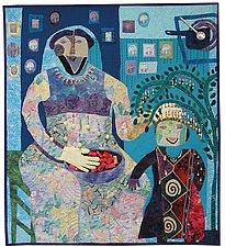 Mama Ruth by Pamela Allen (Fiber Wall Hanging)