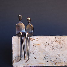 The Two of Us by Yenny Cocq (Bronze Sculpture)