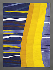Abstraction 4 by Karen Schulz (Fiber Wall Hanging)