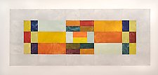 3 Bar Inset with Celadon by Nancy Simonds (Giclee Print)