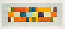Multi Block 3 Bar Inset by Nancy Simonds (Giclee Print)