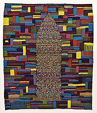 Home by Lynn Cornelius (Fiber Wall Hanging)