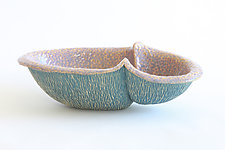 Small Peanut III by Emil Yanos (Ceramic Bowl)