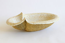 Small Peanut V by Emil Yanos (Ceramic Bowl)