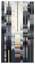 Rising #40 - 5th Avenue by Allegra Brelsford (Fiber Wall Hanging)