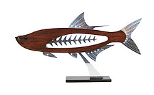 Tarpon by Mark Gottschalk (Wood & Metal Sculpture)