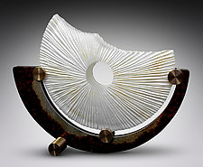 Shells Enduring Life by Kevin Lubbers (Art Glass, Bronze & Steel Sculpture)