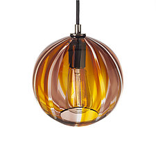Gold Beach House Pendant by Tyler Kimball (Lighting Pendant Lamps)