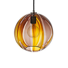 Beach House Pendant by Tyler Kimball (Art Glass Pendant Lamp)