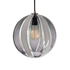 Tuxedo Beach House Pendant by Tyler Kimball (Art Glass Pendant Lamp)