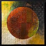 Solar Triptych by David Paul Bacharach (Metal Wall Art)