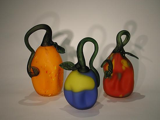 Etched Gourds