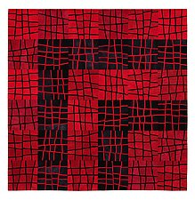 Broken by Janet Steadman (Fiber Wall Hanging)