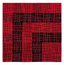 Broken by Janet Steadman (Fiber Wall Hanging)