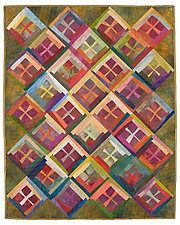 Second Chance by Janet Steadman (Fiber Wall Hanging)