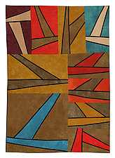 Up and Away by Janet Steadman (Fiber Wall Hanging)