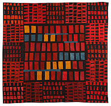 Windows by Janet Steadman (Fiber Wall Hanging)