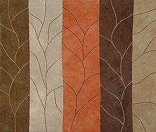 Leafless by Janet Steadman (Fiber Wall Art)