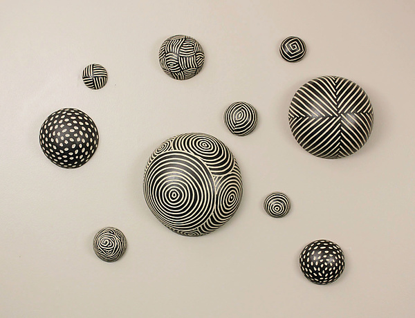 Awesome Random Pattern Wall Balls By Larry Halvorsen (Ceramic Wall Art) | Artful  Home