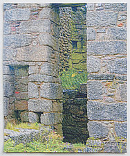 Old Stones 2 by Marilyn Henrion (Fiber Wall Hanging)