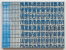 Study for Chicago Windows 1303 by Marilyn Henrion (Fiber Wall Hanging)