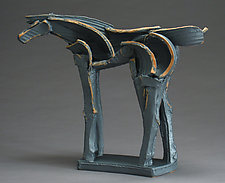 Kawai Tribute Series, Arc and Wing by Jeri Hollister (Ceramic Sculpture)