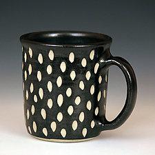 Wheel Thrown Mugs by Larry Halvorsen (Ceramic Mug)