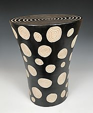 Dots Table by Larry Halvorsen (Ceramic Side Table)
