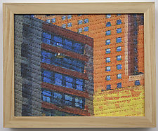 Study for New York Windows 1360 by Marilyn Henrion (Fiber Wall Hanging)