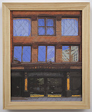 Study for New York Windows 1328 by Marilyn Henrion (Fiber Wall Hanging)