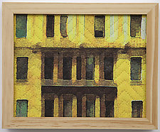 Study for New York Windows 1342 by Marilyn Henrion (Fiber Wall Hanging)