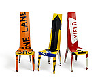 Transit Chair by Boris Bally (Recycled Metal Chair)