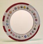 ReView by Boris Bally (Recycled Metal Mirror)