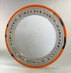 ReView Large by Boris Bally (Recycled Metal Mirror)