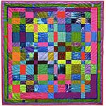 In just-Spring by Marilyn Henrion (Fiber Wall Hanging)
