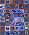 Disturbances 2 by Marilyn Henrion (Fiber Wall Hanging)