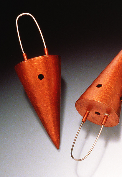 Large Cone Earrings