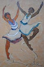 Sister Song by Lori Austill (Encaustic Painting)