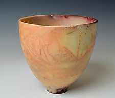 """Eggshell Bowl, Small"" by Judith  Motzkin (Ceramic Vessel)"