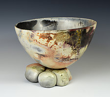 Wash Ashore by Judith  Motzkin (Ceramic Bowl)