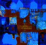Abu Dhabi by Joan Skogsberg Sanders (Acrylic Painting)