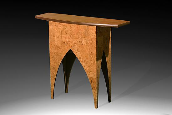 Iberia Bowfront Table