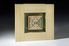Number 2 Cabinet by Douglas W. Jones and Kim Kulow-Jones (Mixed-Media Sculpture)