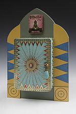 Buddha's Reincarnated Incense by Douglas W. Jones and Kim Kulow-Jones (Mixed-Media Sculpture)