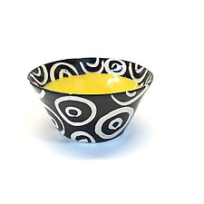 Small Flared Bowl in Yellow by Matthew A. Yanchuk (Ceramic Bowl)
