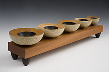 Ascending Vessels by Douglas W. Jones and Kim Kulow-Jones (Wood Bowls)