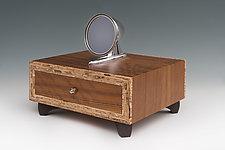 Side View Dressing Stand by Douglas W. Jones and Kim Kulow-Jones (Wood Box)