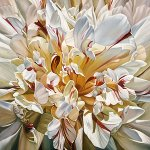 Gold Peony by Barbara Buer (Giclee Print)