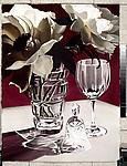 Burgundy by Barbara Buer (Giclee Print)